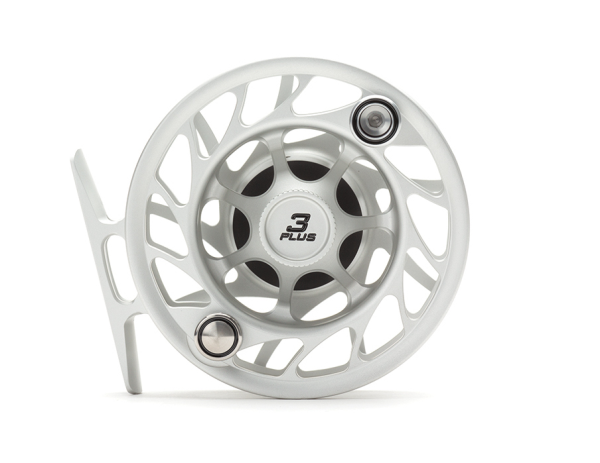 Hatch 3 Plus Finatic Gen 2 Fly Reel Clear Black