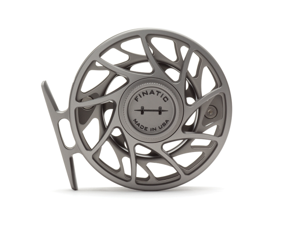 Hatch 4 Plus Finatic Gen 2 Fly Reel Gray Mist