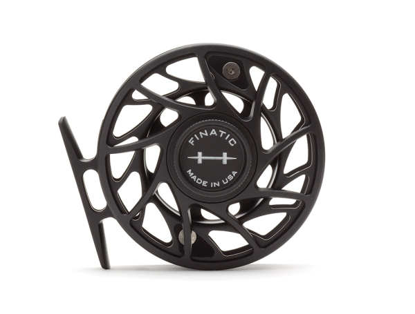 Hatch 4 Plus Finatic Gen 2 Fly Reel Black Silver Mist