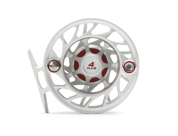 Hatch 4 Plus Finatic Gen 2 Fly Reel Clear Red Mist