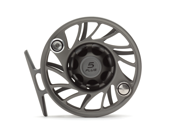 Hatch 5 Plus Finatic Gen 2 Fly Reel Gray Black