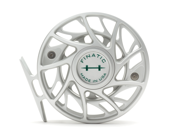 Hatch 7 Plus Finatic Gen 2 Fly Reel Clear Green
