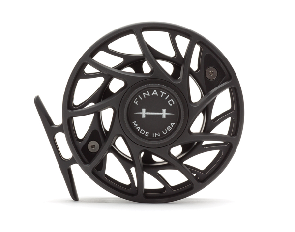 Hatch 7 Plus Finatic Gen 2 Fly Reel Black Silver