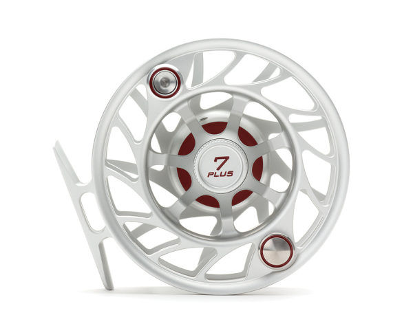 Hatch 7 Plus Finatic Gen 2 Fly Reel Clear Red