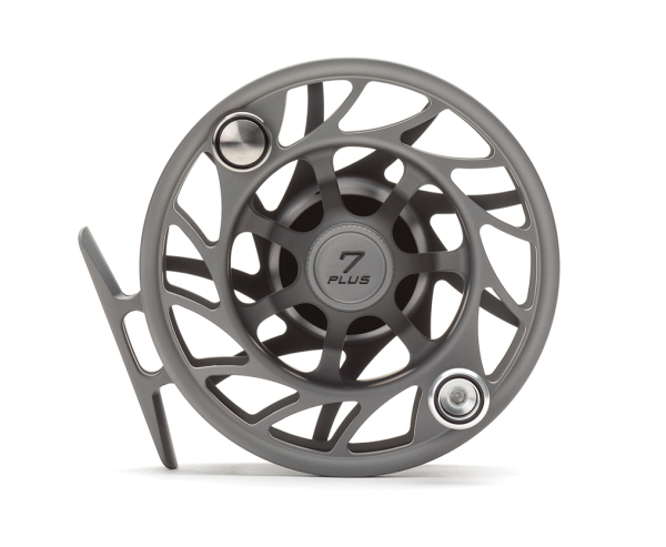 Hatch 7 Plus Finatic Gen 2 Fly Reel Gray Black