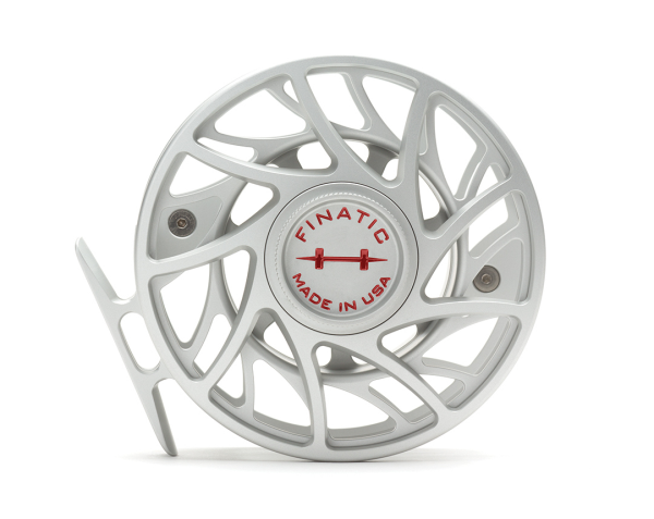 Hatch 9 Plus Finatic Gen 2 Fly Reel Clear Red