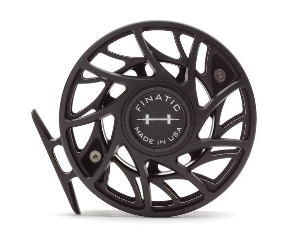 Hatch 9 Plus Finatic Gen 2 Fly Reel Black Silver