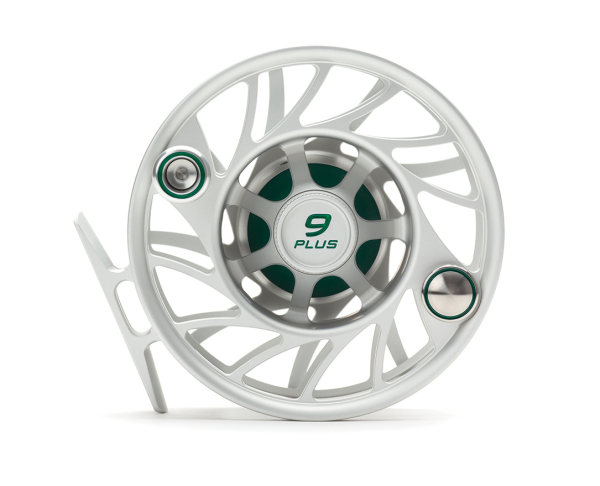 Hatch 9 Plus Finatic Gen 2 Fly Reel Clear Green