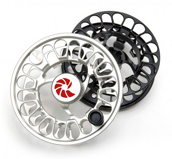 Nautilus NV-G silver and black fly fishing reel