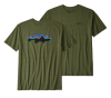 Fitz Roy Smallmouth Responsibili-Tee Greenie Green