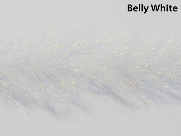 Frenzy Fly Fiber Brush Belly White
