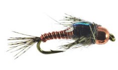 Hare Copper Fly Copper/Olive/Black