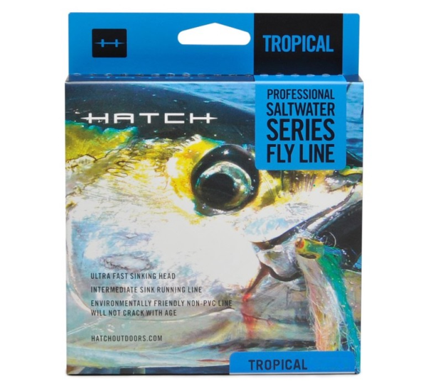 Hatch Tropical Sinking Fly Line