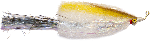 Flashtail Deep Minnow Fly for Pike Muskie Bass