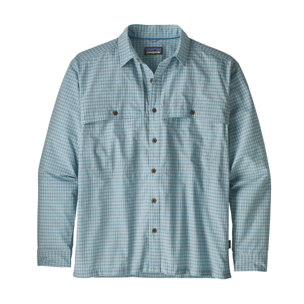 Patagonia Island Hopper II LS Shirt Savage River Atoll Blue
