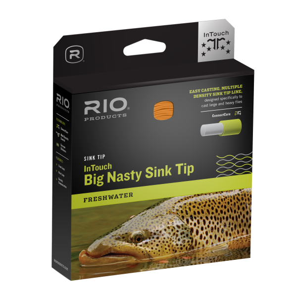 RIO InTouch Big Nasty 4D Sink Tip Fly Line - F/H/I/S3