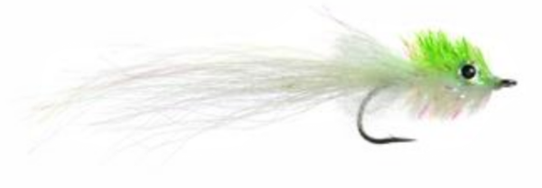 Mini Murdich Minnow Chartreuse White