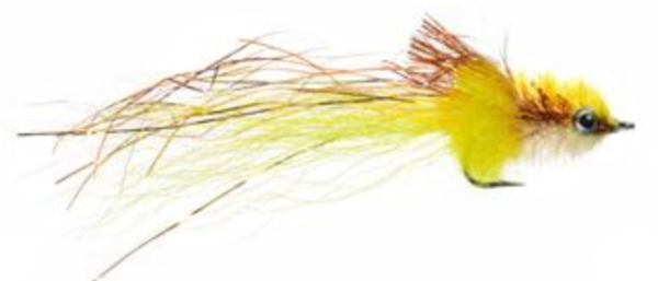 Mini Murdich Minnow Copper Yellow