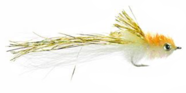 Mini Murdich Minnow Gold White
