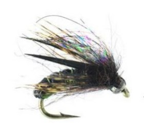 Morrish Hotwire Caddis Wet Fly Olive