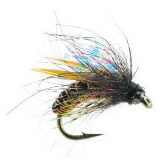Morrish Caddis Nymph Trout Fly Amber