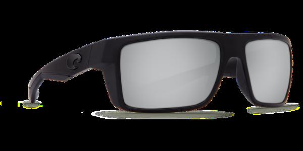 a46b1f44c3c6 Costa Del Mar Motu Polarized Sunglasses Blackout Silver Copper Mirror Glass