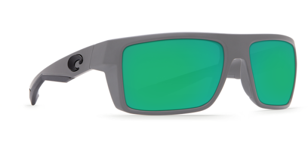 82856e599e Costa Del Mar Motu Polarized Sunglasses (Matte Gray Green Mirror - Poly)