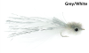 Murdich Minnow Marabou Fly Grey White