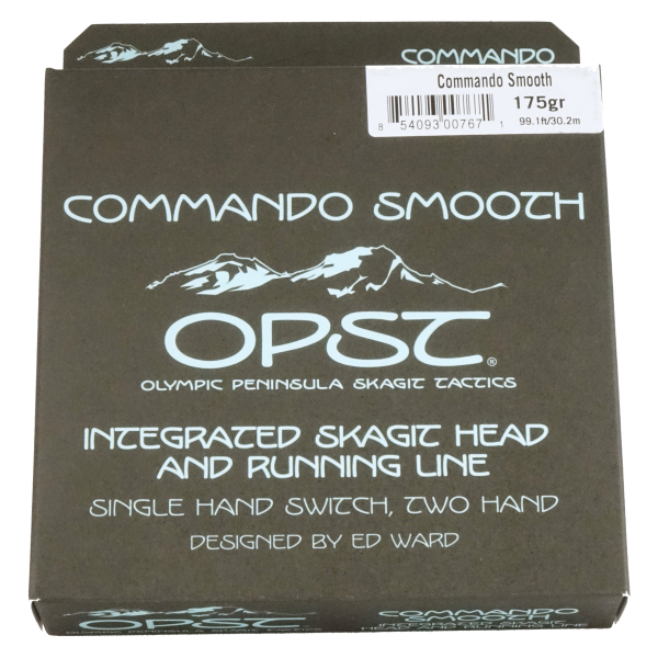 OPST Commando Smooth Fly Line