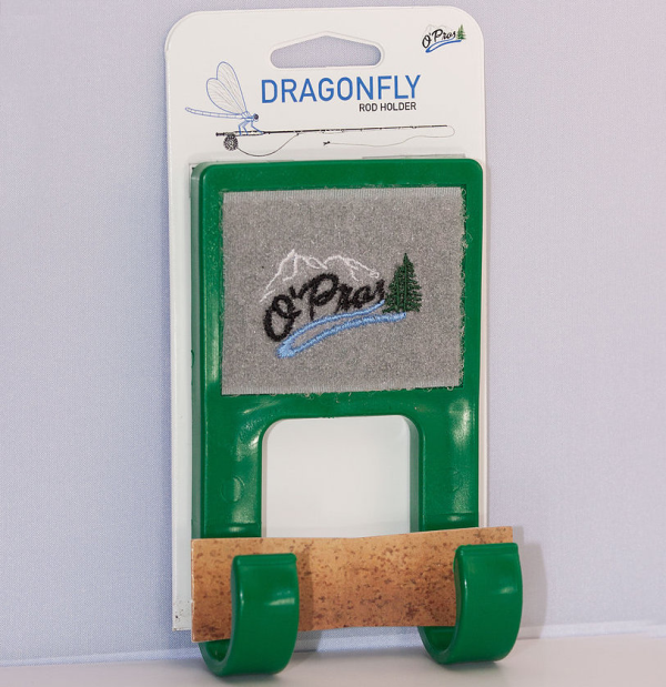 OPros Dragonfly Fly Rod Holder Green