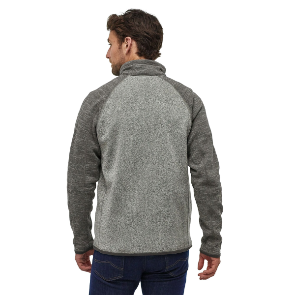 Patagonia Better Sweater Qtr Zip 25523 NKFG Model Back