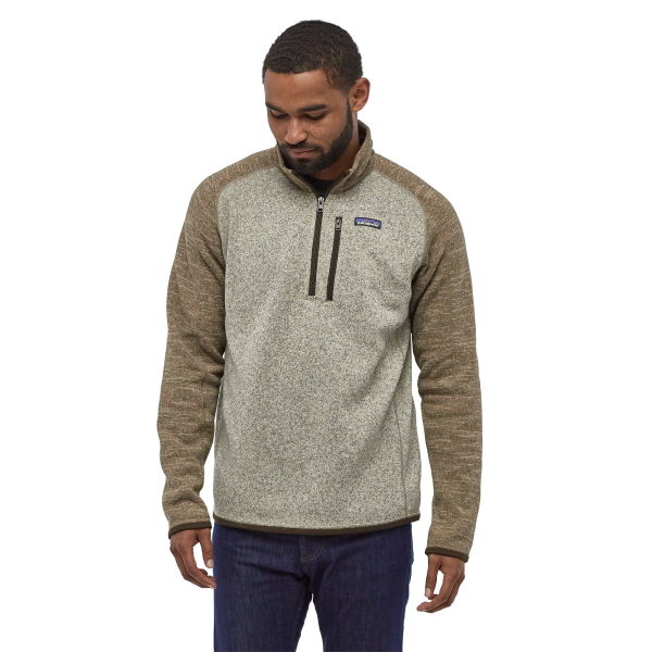 Patagonia Better Sweater Qtr Zip 25523 BLPA Model