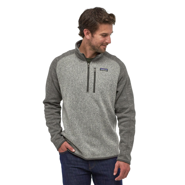 Patagonia Better Sweater Qtr Zip 25523 NKFG Model