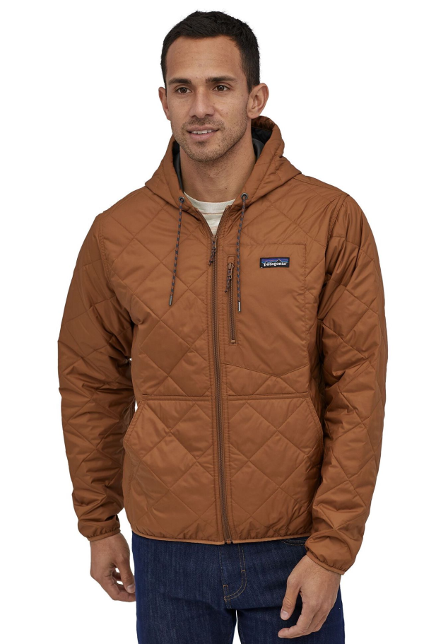 Patagonia Diamond Quilted Bomber Hoody 27610 EWBN Model