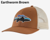 Patagonia Fitz Roy Smallmouth LoPro Trucker Hat 38286 EWBN