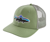 Patagonia Fitz Roy Trout Trucker Hat Matcha Green