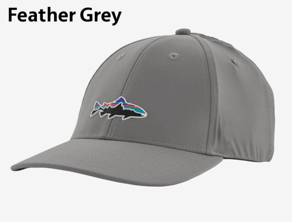 Patagonia Fitz Roy Trout Channel Watcher Hat Feather Grey