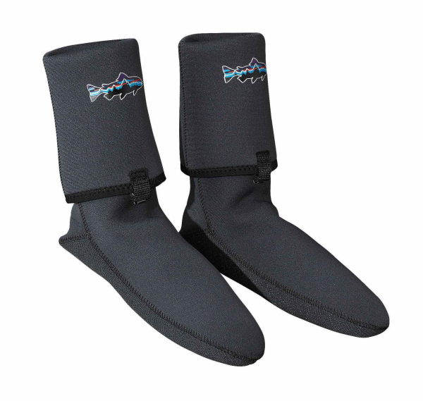 Patagonia Neoprene Socks with Gravel Guard Forge Grey