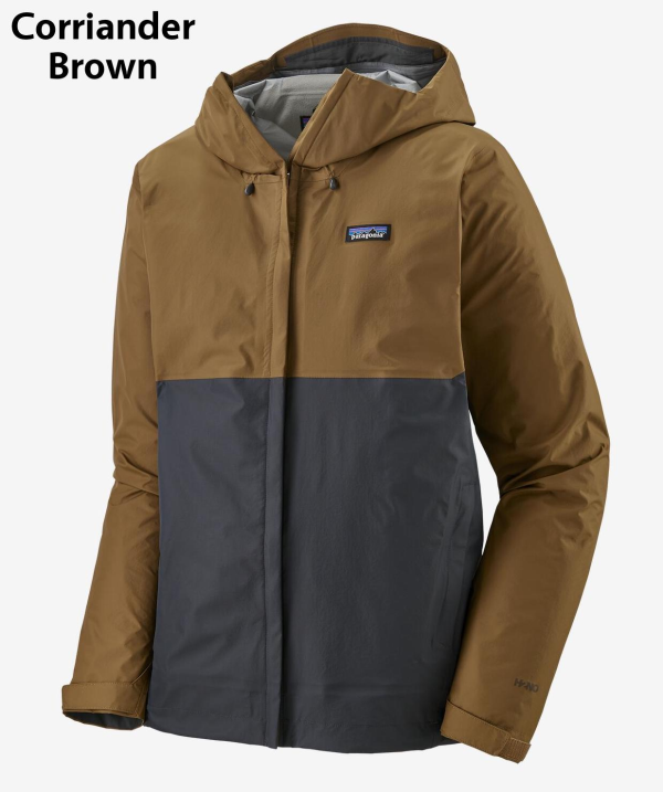 Patagonia Torrentshell Jacket Coriander Brown