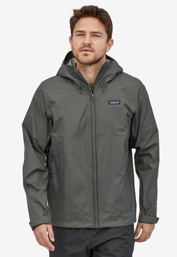 Patagonia Torrentshell Jacket Forge Grey Model