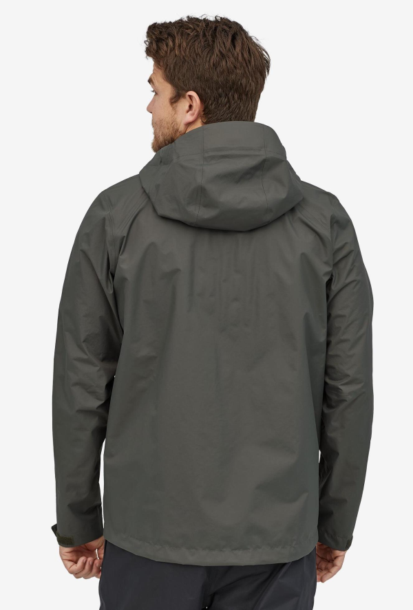 Patagonia Torrentshell Jacket Forge Grey Model Back