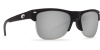 Costa Del Mar Pawleys Polarized Sunglasses Matte Black Gunmetal Wire Silver Copper Mirror Poly