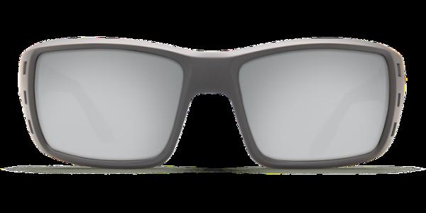 6be3110f46e Costa Del Mar Permit Polarized Sunglasses Matte Gray Silver Copper Mirror  Glass Front