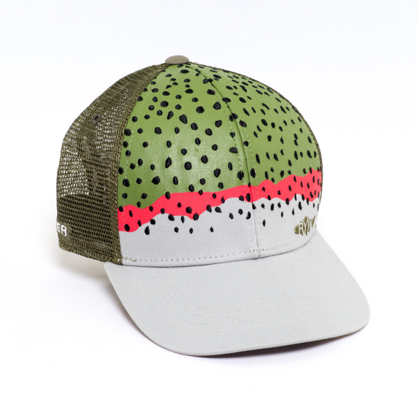 c0cf2a3f32142 Rep Your Water Hat - Rainbow Trout Skin