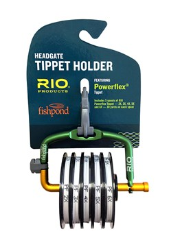 Rio fishpond headgate loaded tippet holder the fly for Tippet fly fishing