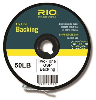 RIO 2-Tone Gel Spun Backing 50lb - 100 Yard Spool