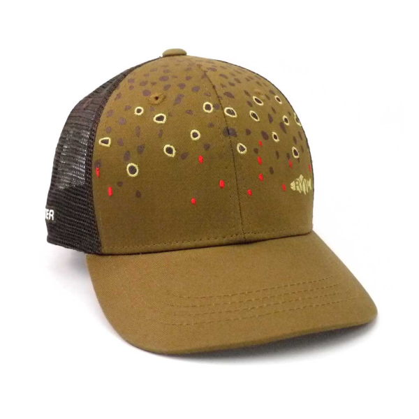 Rep Your Water Hat - Brown Trout Skin
