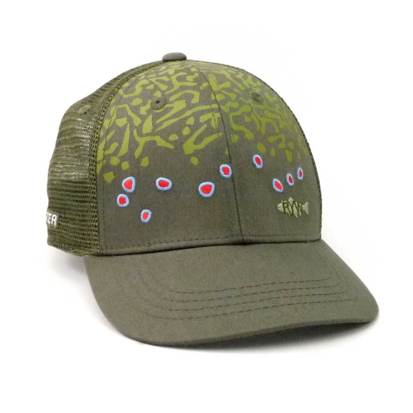 Rep Your Water Hat - Brook Trout Skin