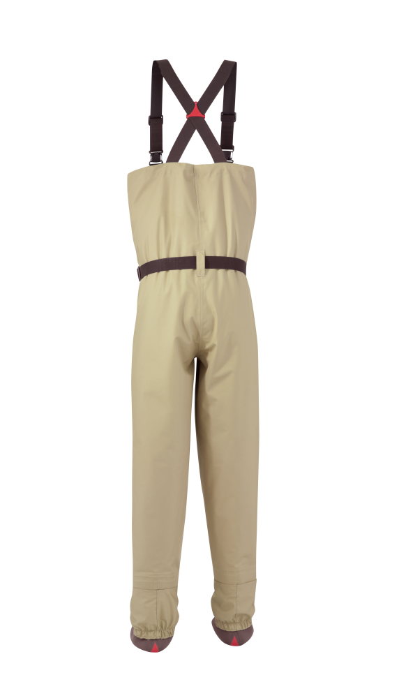 Redington Crosswater Breathable Fishing Waders Back