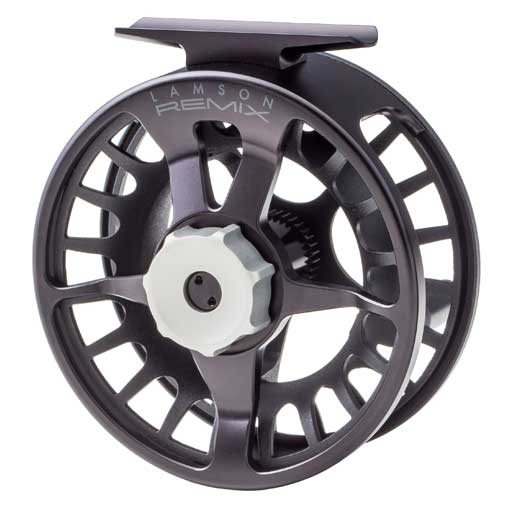 Lamson Remix Fly Reel Black Front